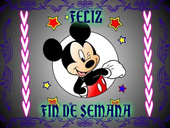 Mickey y Minnie con Frases (4)