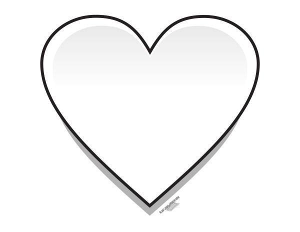 Corazones tiernos de Amor para colorear e imprimir | Información ...