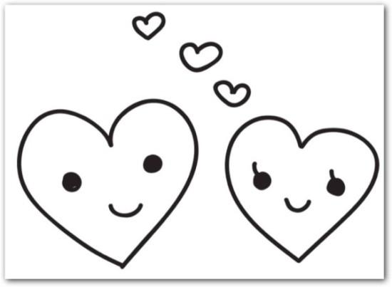 corazones para colorear hermosos  (5)