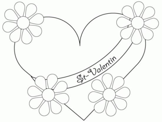 corazones para colorear hermosos  (6)