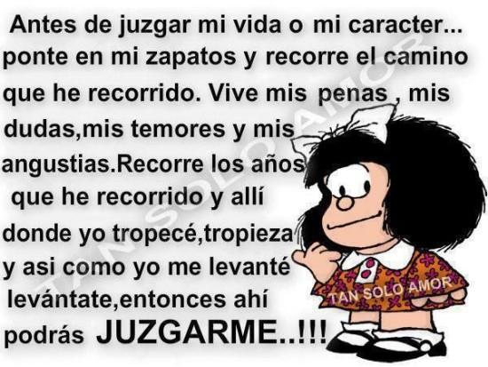 66 Imagenes De Mafalda Con Frases De Amor Felicidad Libertad Y
