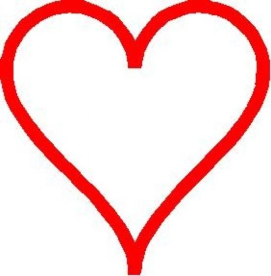imágenes de corazones para Pintar  (1)