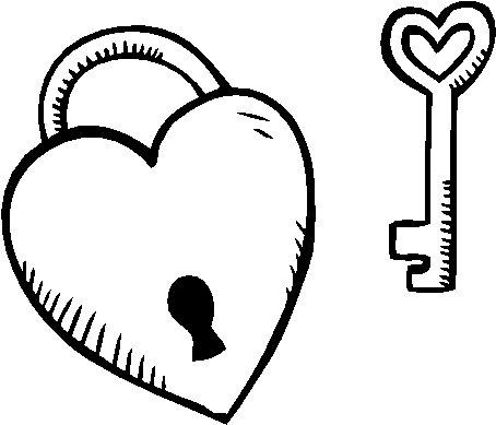 imágenes de corazones para Pintar  (2)