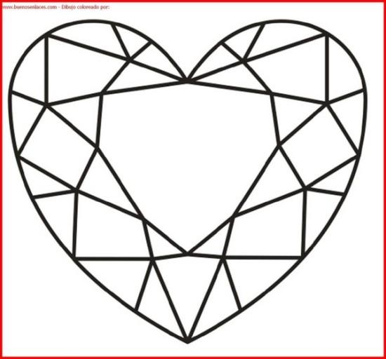 imágenes de corazones para Pintar  (3)
