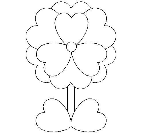imágenes de corazones para Pintar  (4)