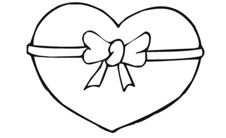 imágenes de corazones para Pintar  (6)