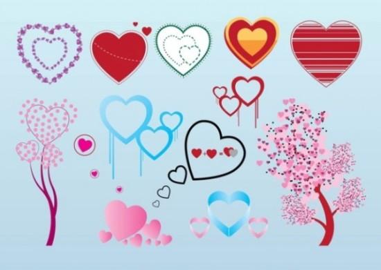 libre-de-san-valentin-corazon-de-graficos-vectoriales_21-1410