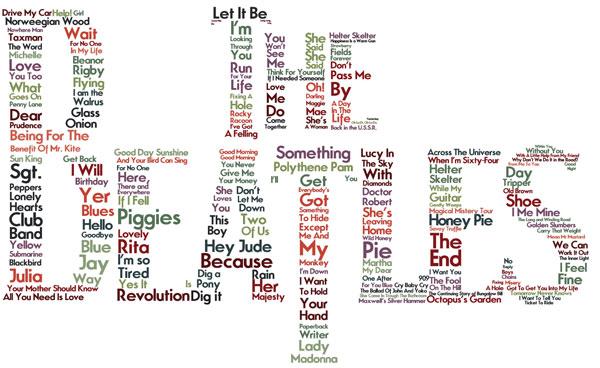 Imágenes de Los Beatles con grandes frases de canciones inolvidables ...