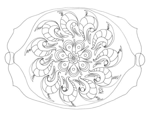 50 Imágenes de Mandalas para colorear e imprimir con dibujos faciles ...