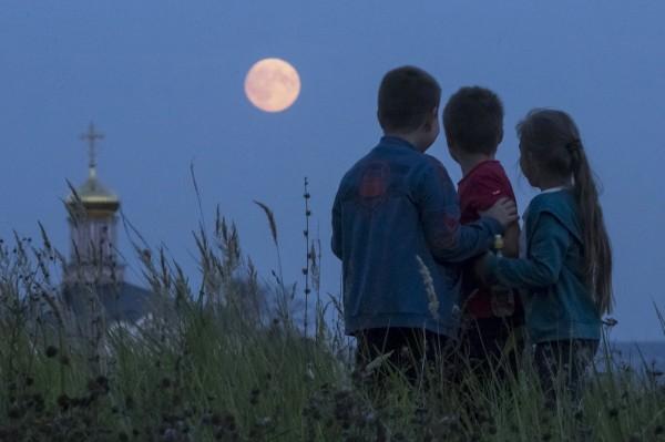super eclipse de luna