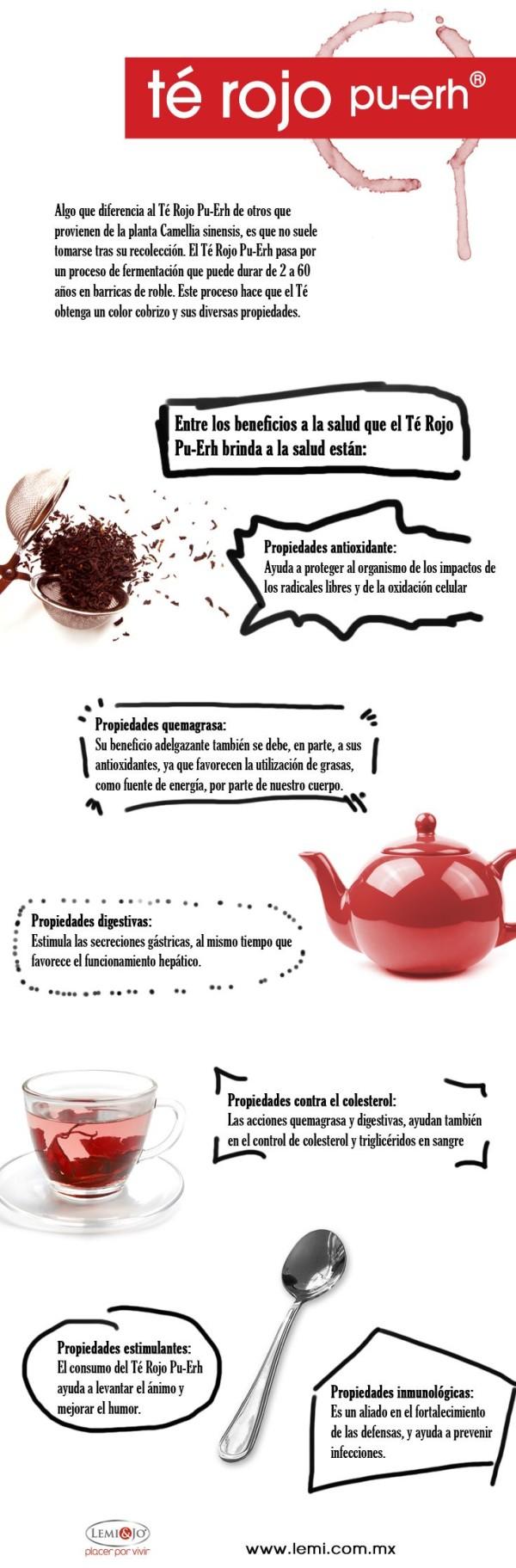 Como preparar el te rojo para adelgazar
