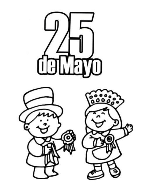 25 de mayo dibujos para niños  colorear (24)