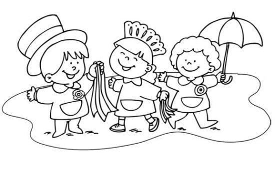 25 de mayo dibujos para niños  colorear (9)