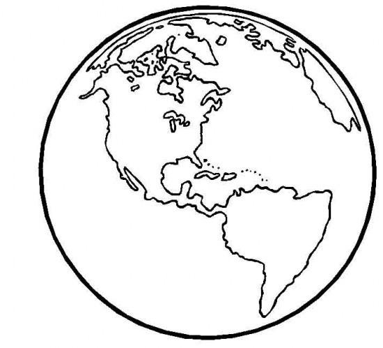 Día de la Tierra para colorear  (5)