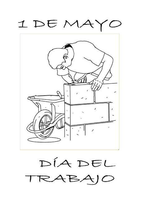 Imágenes del Día del Trabajador con dibujos para descargar y ...