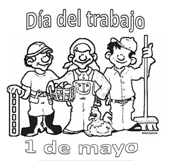 Dibujos Día del Trabajador (10)