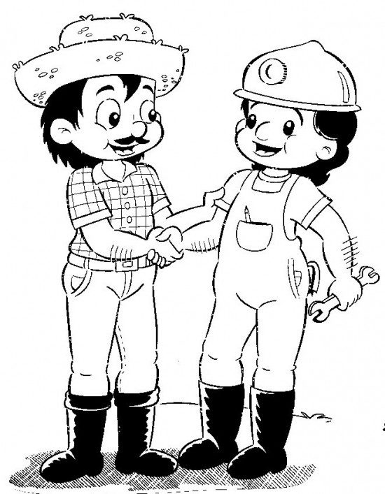 Dibujos Día del Trabajador (4)