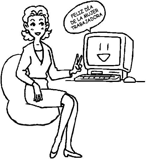 Dibujos Día del Trabajador (7)