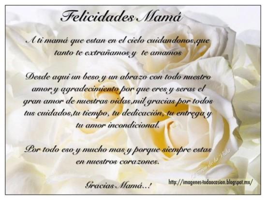Feliz dia de la Madre - frases - mensajes  (2)