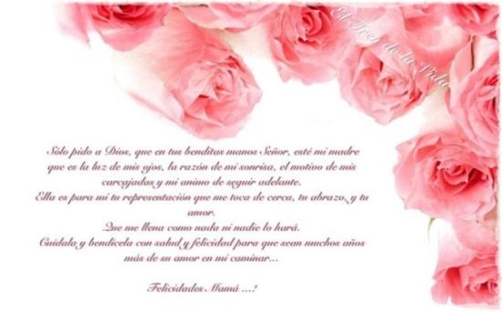 Feliz dia de la Madre - frases - mensajes  (7)