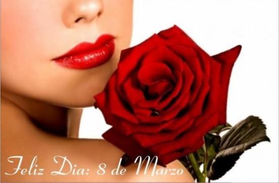 Frases con Flores de Felíz Día de la Mujer (5)