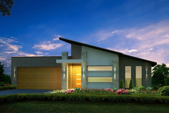 Hermosas fachadas de casas modernas y simples (1)