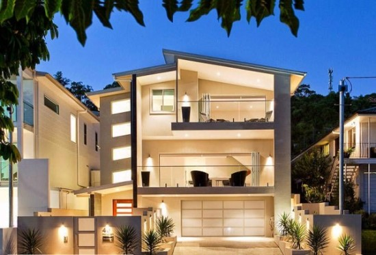 Hermosas fachadas de casas modernas y simples (14)