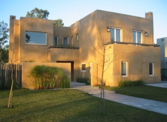Hermosas fachadas de casas modernas y simples (16)