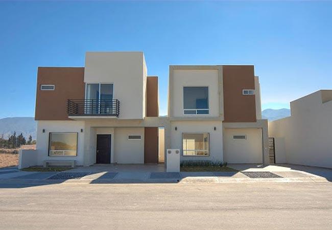 160 im genes de fachadas de casas modernas minimalistas y for Casas duplex modernas