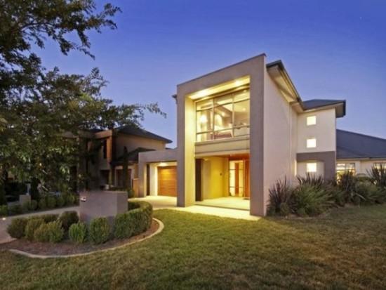 Hermosas fachadas de casas modernas y simples (3)