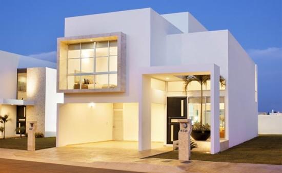 Hermosas fachadas de casas modernas y simples (9)