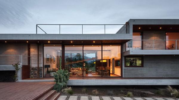 160 im genes de fachadas de casas modernas minimalistas y for Fachadas de casas estilo rustico moderno