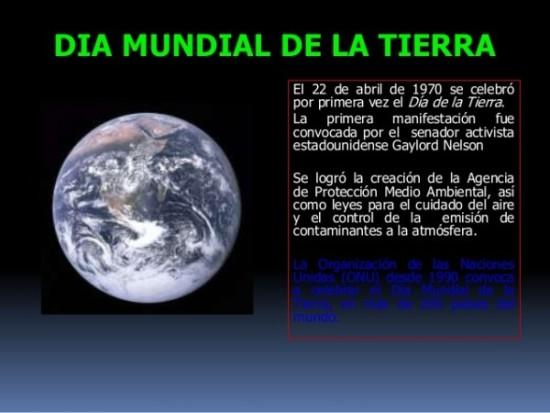 Información Día de la Tierra  (2)