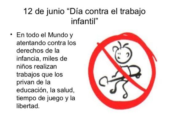 No al Trabajo infantil  (10)