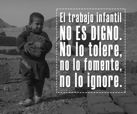 No al Trabajo infantil  (5)