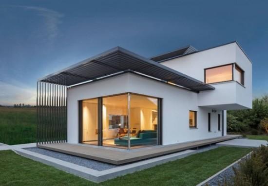 fachadas de casas modernas imgenes 1 - Fotos De Fachadas De Casas