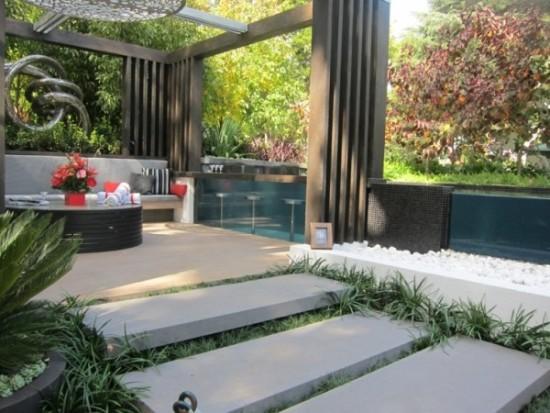 ideas modernas para decorar espacios exteriores  (33)