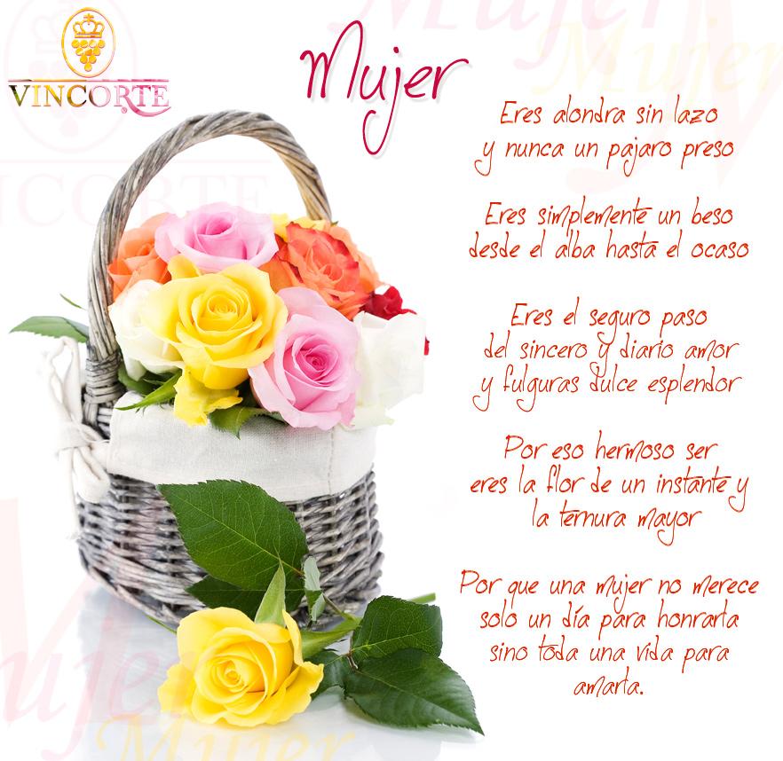 Tarjeta de Flores Virtuales para Día de la Mujer Rio