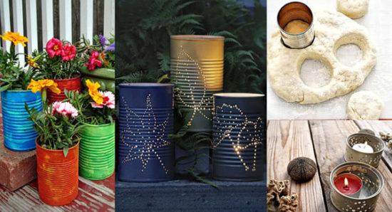 increibles ideas con latas recicladas (3)