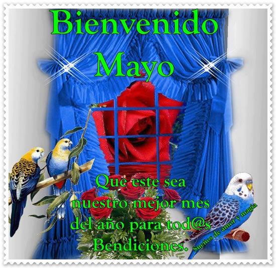 Bienvenido Mayo - Hola Mayo (1)