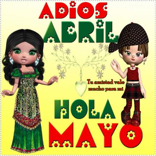 Bienvenido Mayo - Hola Mayo (3)
