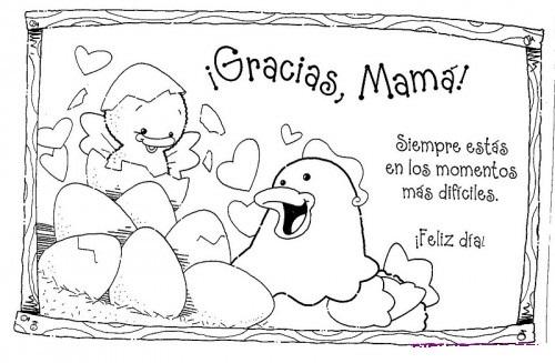 Imagenes Del Dia De La Madre Con Dibujos Para Descargar Imprimir