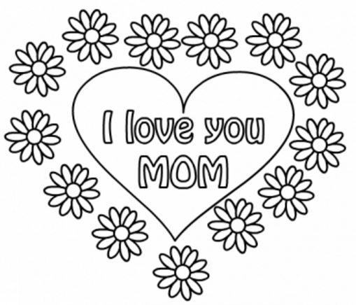 Imágenes Del Día De La Madre Con Dibujos Para Descargar Imprimir Y