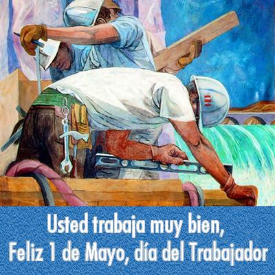 Día del Trabajador tarjetas (2)