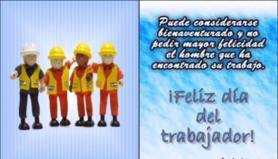 Día del Trabajador tarjetas (4)