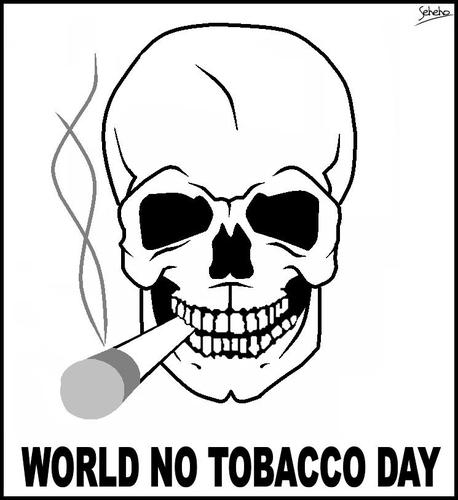 Día sin Tabaco para colorear e imprimir  (2)