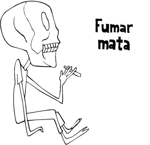 Dibujos dia sin tabaco para colorear  (1)