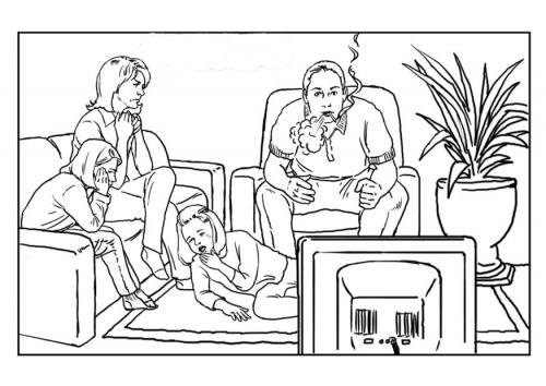 Dibujos dia sin tabaco para colorear  (5)