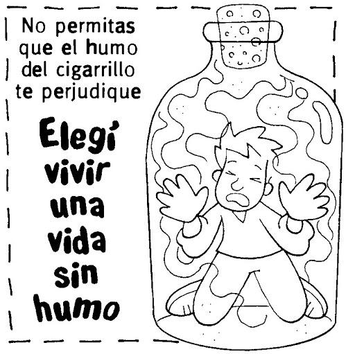 Dibujos dia sin tabaco para colorear  (7)
