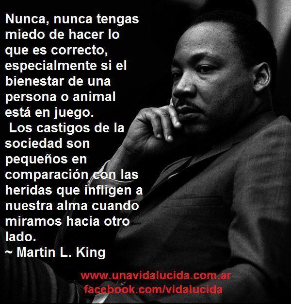 Frases Célebres De Martin Luther King Las Mejores Frases